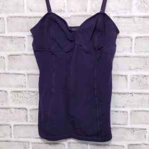 3/$20 Talula Purple Fitted Tank Top Size Large